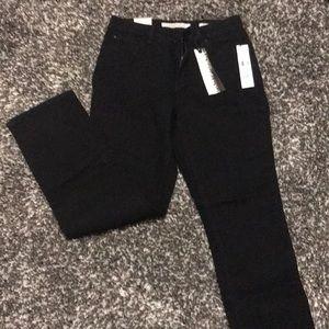 NWT Black Jones New York Jeans- Lexington Straight
